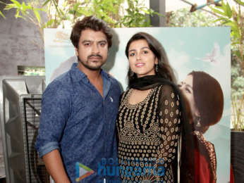 Photos: Team of Saumya Ganesh snapped at their film launch