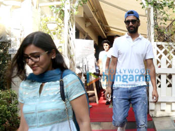 Photos: Vicky Kaushal spotted at Smoke House Deli in Bandra