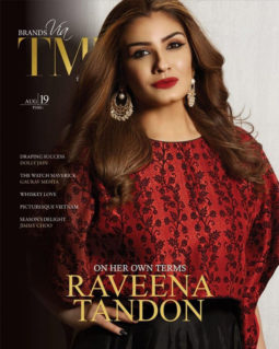 Raveena Tandon On The Covers of TMM
