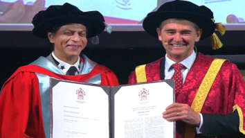 Shah Rukh Khan receives first of its kind honorary doctorate from La Trobe University in Melbourne