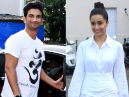 Shraddha Kapoor, Sushan Singh Rajput & Varun Sharma spotted promoting their film Chhichhore