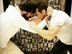 Sultan meets Pehlwaan: Salman Khan and Kichcha Sudeep wrestle each other in this new photo