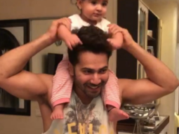 VIDEO: Coolie No 1 Varun Dhawan is now 'Chachu No 1' while playing with his niece Ishita