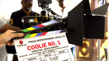 Varun Dhawan's mother gives the mahurat clap for Coolie No 1 remake