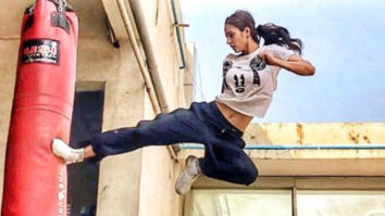 WATCH VIDEO: Disha Patani does a front flip and it is absolutely amazing