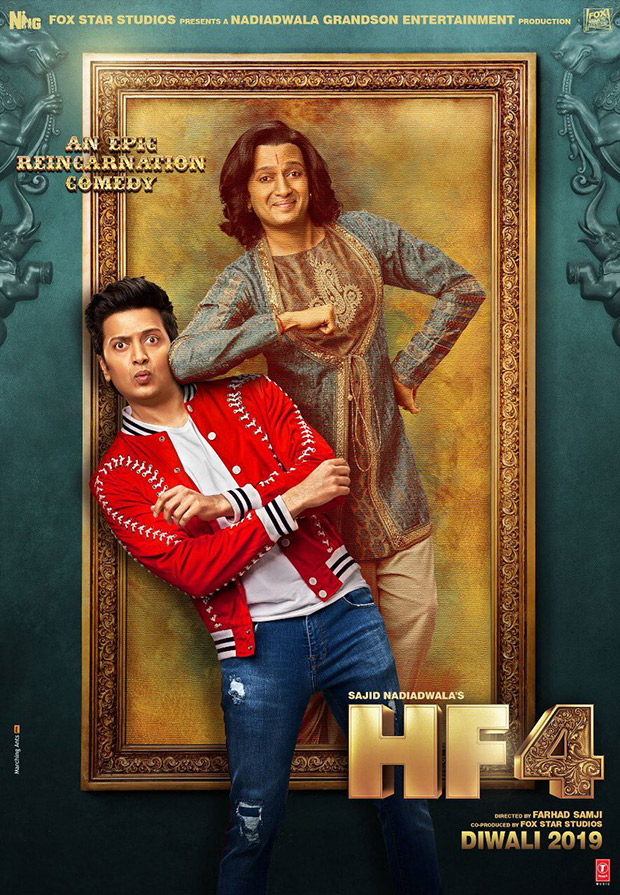 HOUSEFULL 4 The first look of Riteish Deshmukh is going to make it difficult to wait for the film!