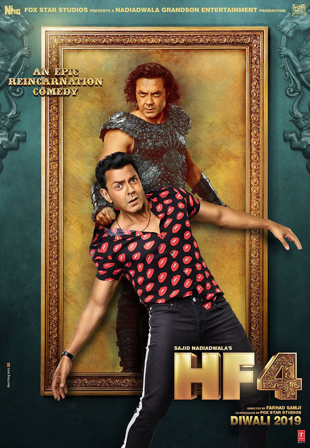 Housefull 4 Bobby Deol to don the role of a warrior named Dharamputra and Max as they travel back in time!