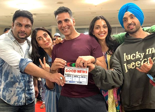 Akshay Kumar and Kareena Kapoor Khan's Good News now titled Good Newwz