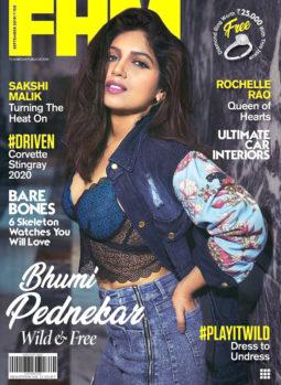 Bhumi Pednekar On The Cover Of FHM