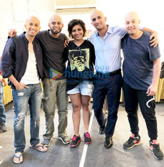 On The Sets From The Movie Chhichhore