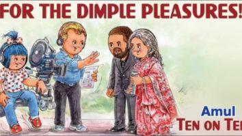 Christopher Nolan's Tenet gets a Amul Topical tribute, features Dimple Kapadia and John David Washington