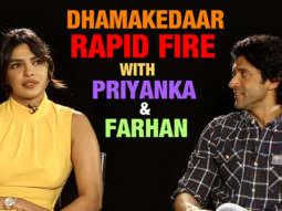 Priyanka Chopra & Farhan Akhtar's BLOCKBUSTER Rapid Fire | Don 3 Rumour | Nick Jonas | Biopic