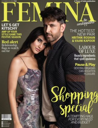 Vaani Kapoor, Hrithik Roshan On The Covers Of Femina