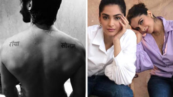 Harshvardhan Kapoor flaunts his bare back inked with his sisters Sonam Kapoor and Rhea Kapoor's names