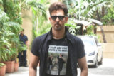 Hrithik Roshan spotted promoting his film War