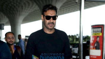 Photos: Ajay Devgn and Amrita Rao snapped at the airport