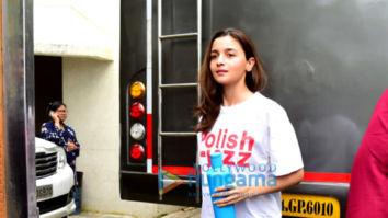 Photos: Alia Bhatt spotted on location shooting for Sadak 2 in Bandra