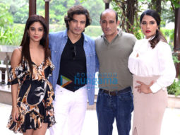 Photos: Cast of Section 375 snapped during promotions in Delhi