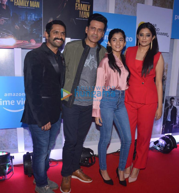 Photos Celebs snapped at the Special Screening of Amazon Prime web series The Family Man (4)