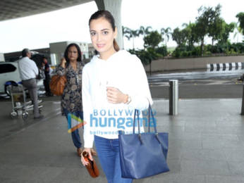 Photos: Dia Mirza snapped at the airport