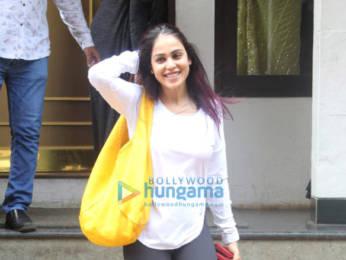Photos: Genelia Dsouza spotted at Manish Malhotra's store