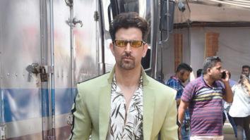 Photos: Hrithik Roshan and Vaani Kapoor snapped on sets of Nach Baliye 9