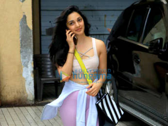 Photos: Kiara Advani snapped outside boxing class
