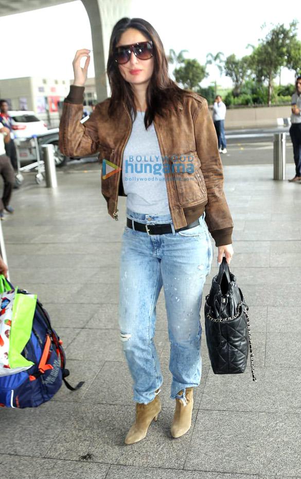 Photos Saif Ali Khan, Taimur Ali Khan, Kareena Kapoor Khan and others snapped at the airport (3)