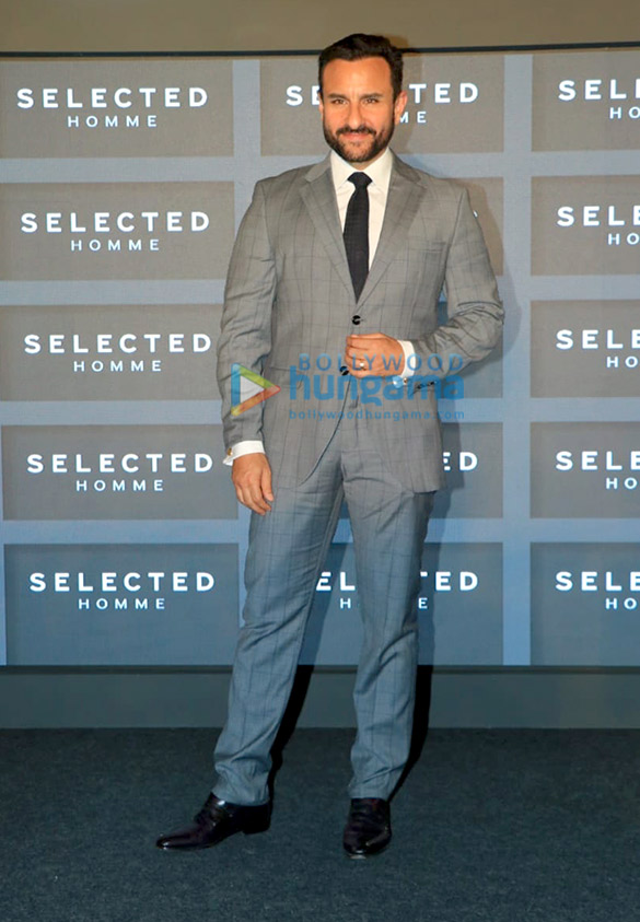 Photos: Saif Ali Khan announced as the brand ambassador for the menswear brand Selected Homme