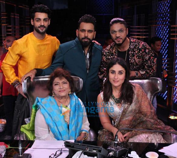 Photos Saroj Khan snapped on sets of Dance India Dance (1)
