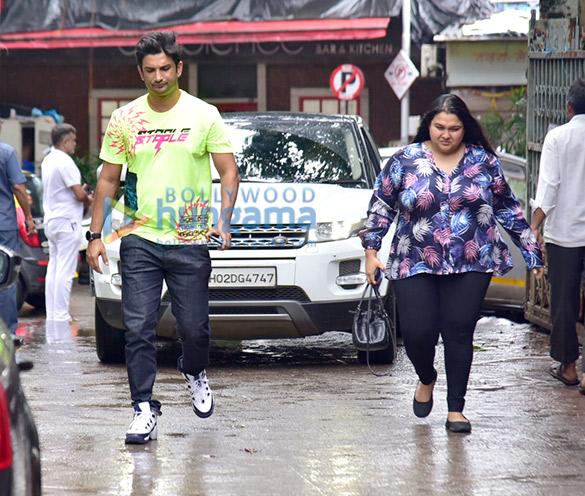 Photos Sushant Singh Rajput, Shraddha Kapoor, Varun Sharma and Tahir Raj Bhasin snapped during Chhichhore promotions (1)