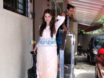 Photos: Tara Sutaria spotted at the Matrix office in Bandra