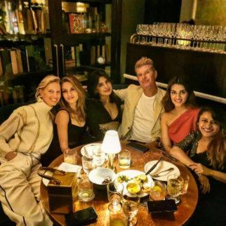 Priyanka Chopra, Kriti Sanon and Rohini Iyer enjoy dinner post attending the New York fashion week