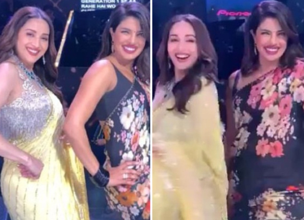 Priyanka Chopra and Madhuri Dixit set the stage on fire with a dance off on 'Dola Re Dola' and 'Pinga' on Dance Deewane