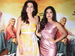 Saand Ki Aankh stars Taapsee Pannu and Bhumi Pednekar define the tandem spirit in their Twitter conversation
