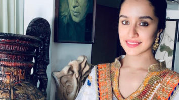 Shraddha Kapoor takes time out from her hectic schedule to celebrate Ganesh Chaturthi at home