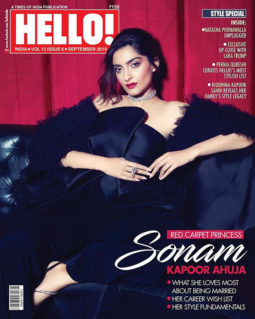 Sonam Kapoor Ahuja On The Cover Of Hello!