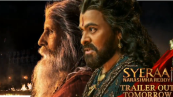 Sye Raa Narasimha Reddy: The makers release motion poster of Chiranjeevi and Amitabh Bachchan starrer ahead of trailer release