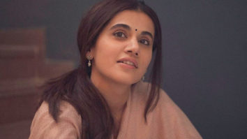 Thappad: Taapsee Pannu is in pensive mood on the sets of Anubhav Sinha's film