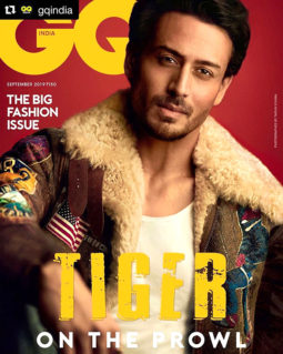 Tiger Shroff On The Cover Of GQ Magazine