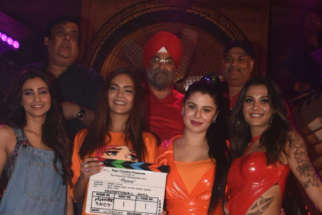 on the sets of the movie Tipsy