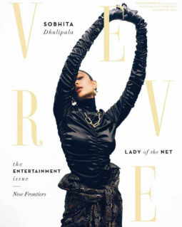 Sobhita Dhulipala on the cover of Verve, Sept 2019