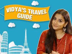 Vidya Balan's Travel Essentials & Hacks Lifestyle Bollywood Hungama