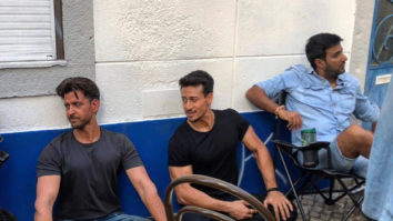 WAR: Hrithik Roshan and Tiger Shroff wrap up the film with a nostalgia filled video
