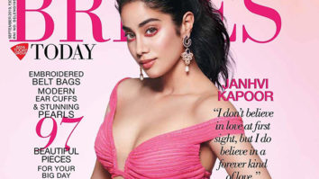Watch A glimpse into Janhvi Kapoor's charming avatar for the cover of Brides Today
