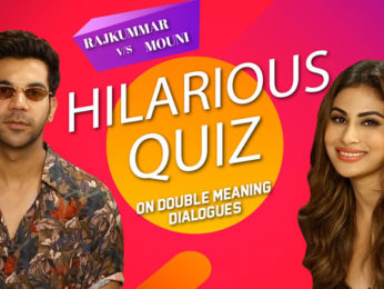 'Double Meaning' quiz Rajkummar & Mouni's most hilarious & closely fought battle Made In China