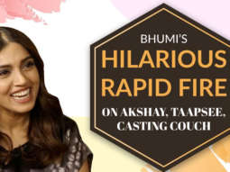 """""""Akshay Kumar - The SEXIEST Man In Bollywood"""" Bhumi Rapid Fire Casting Couch Housefull 4"""
