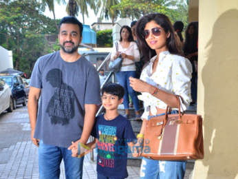 Photos: Aditya Roy Kapur, Shilpa Shetty and others snapped in Juhu