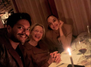 Ali Fazal spends his birthday with Gal Gadot and Anette Benning in London