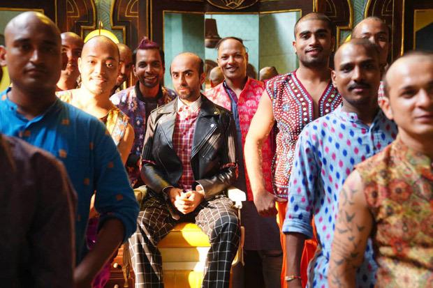 Bala: Ayushmann Khurrana flaunts his bald avatar in recreated version of 'Don't Be Shy'